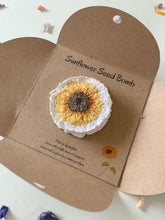 Load image into Gallery viewer, If Mums were flowers I'd pick you' Sunflower Seed Bomb