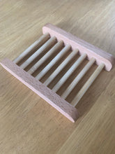 Load image into Gallery viewer, Wooden Soap Dish Rack