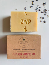 Load image into Gallery viewer, Zero Waste Path Lavender Shampoo Bar