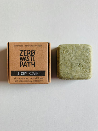 Zero Waste Path 2in1 Shampoo + Conditioner – Itchy Scalp