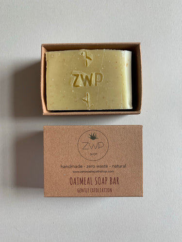 Zero Waste Path Oatmeal Soap Bar