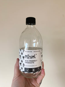Miniml Reusable Glass Bottles