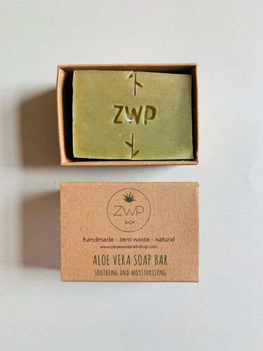Zero Waste Path Aloe Vera Soap Bar