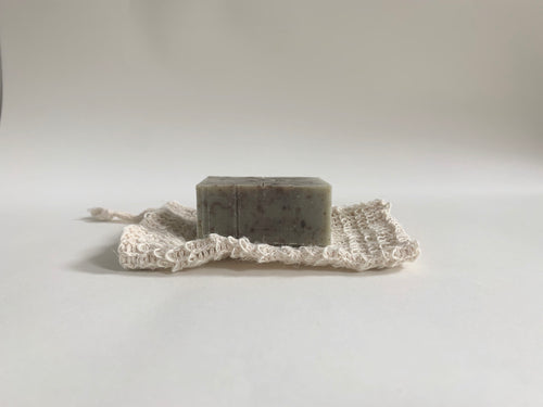Natural Jute Soap Bag