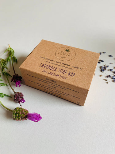 Zero Waste Path Lavender Soap Bar