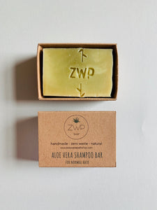 Zero Waste Path Aloe Vera Shampoo Bar