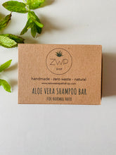 Load image into Gallery viewer, Zero Waste Path Aloe Vera Shampoo Bar
