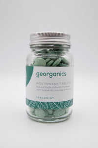 Georganics Mouthwash Tablets Spearmint