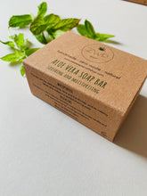 Load image into Gallery viewer, Zero Waste Path Aloe Vera Soap Bar