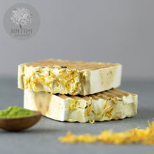 Load image into Gallery viewer, SLS free and plastic-free Match Green Purity soap bar from Sintra Naturals.