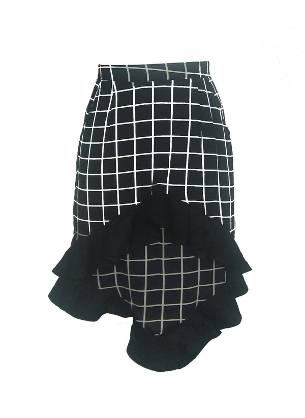 Very Checked Skirt
