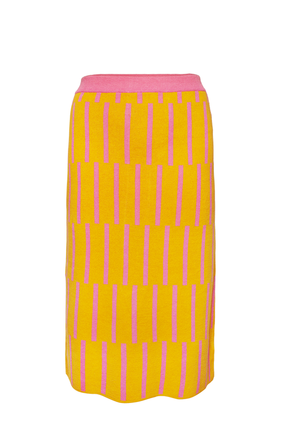 Yellow Hynotise Skirt
