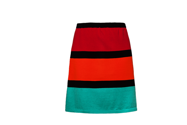 Trio Red Kachina Skirt