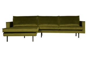 Rodeo Sofa in Samt links