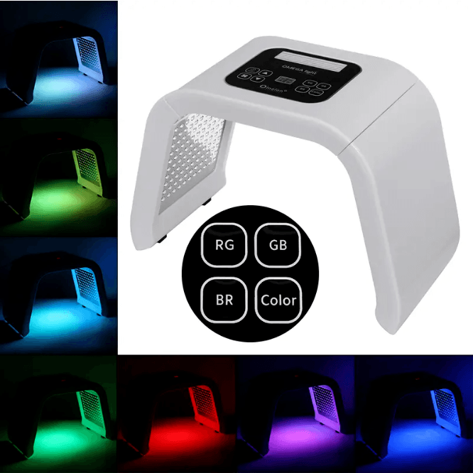 Facial Beauty Machine Anti-aging LED Light Therapy Skin Rejuvenation UV & LED Lamp Corner of Value
