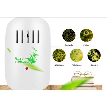 Mini Air Purifier Portable Negative Ion Anion Air Cleaner For Home Or Office Corner of Value