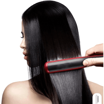 Electric Hair Straightener Curling Styling Comb Iron Corner of Value