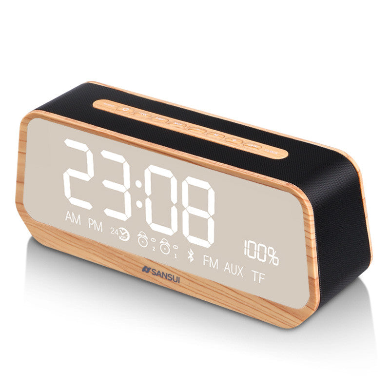 Sansui Bluetooth Alarm Clock With Digital Display