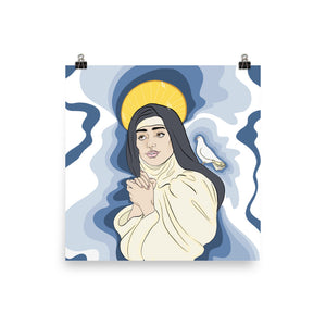 Saint Teresa of Avila Premium Luster Photo Paper Poster (in)
