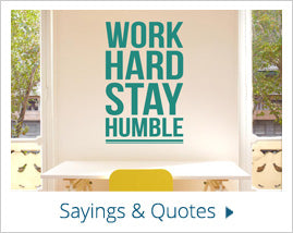sayings and quotes Wall Stickers
