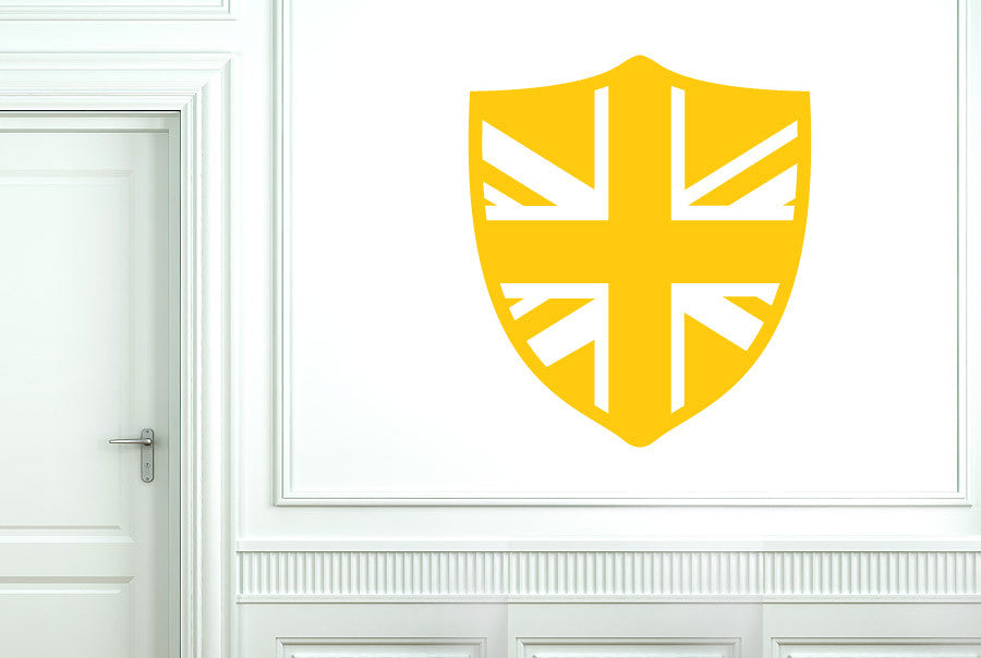 British Shield CUT IT OUT Wall Stickers Art Decals   CUT IT OUT Wall ...