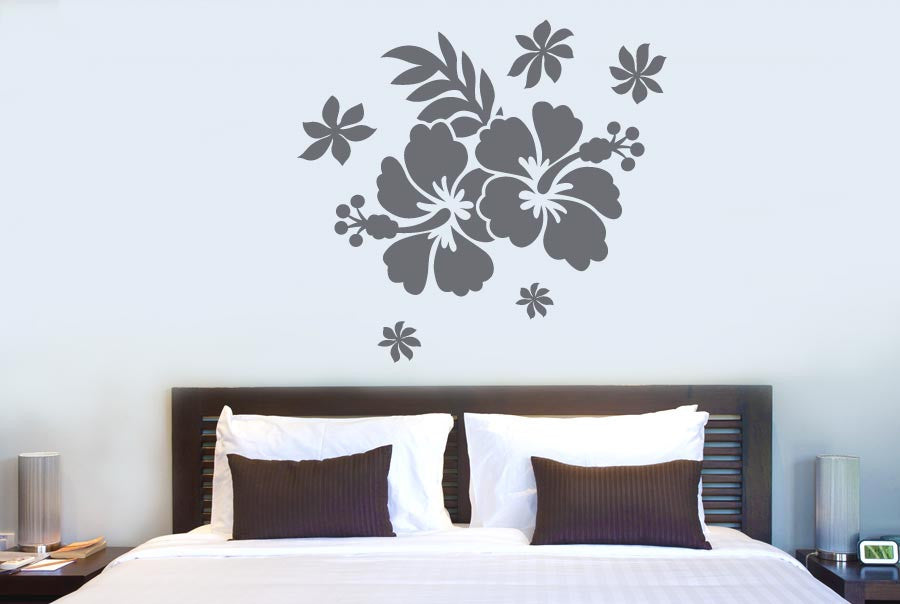 Trees Flowers Wall Stickers Cut It Out Wall Stickers