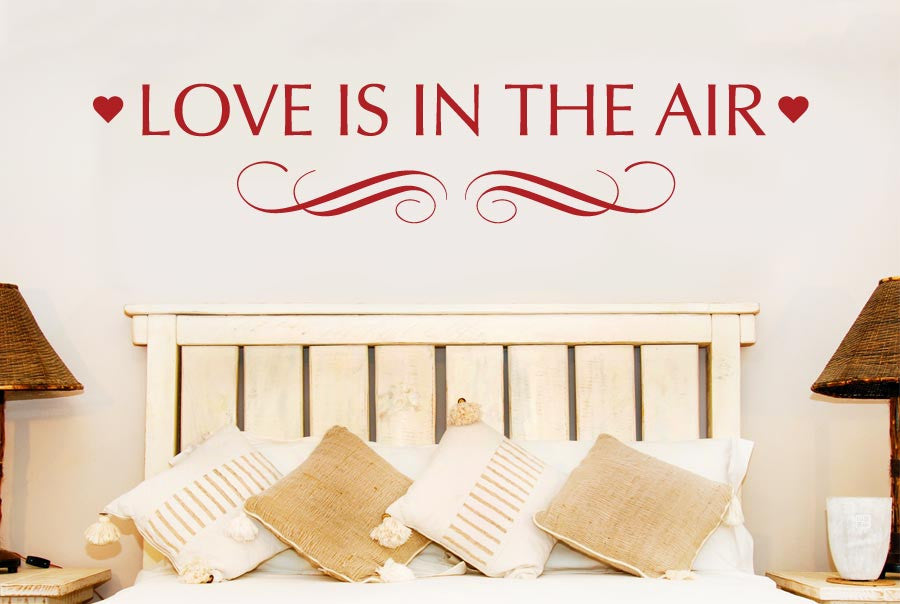 Love Is In The Air CUT IT OUT Wall Stickers Uk And Art