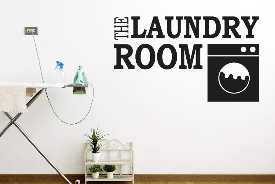 The Laundry Room Wall Sticker