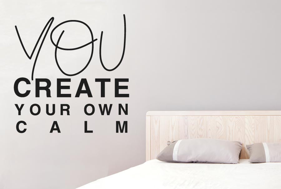 you create your own calm cut it out wall stickers uk and art decals