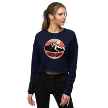 Load image into Gallery viewer, Faith Jump Crop Top Sweatshirt
