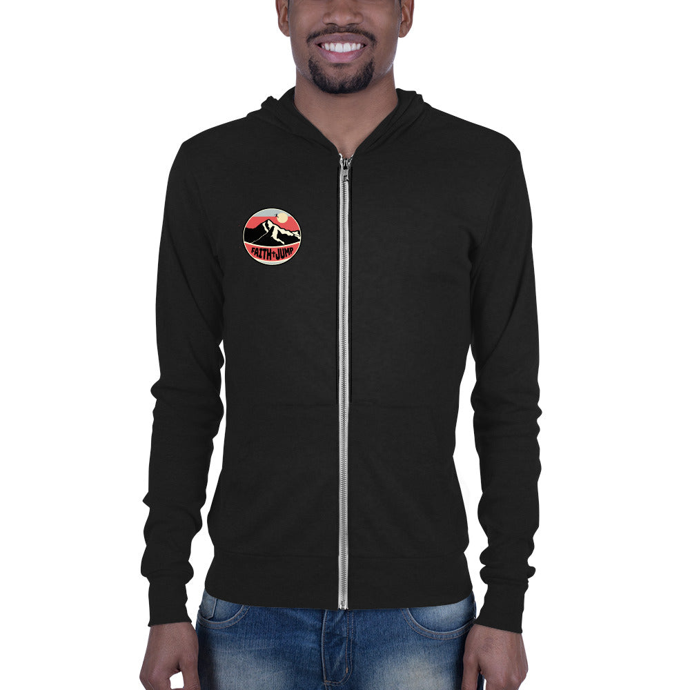 Men's Faith Jump zip hoodie