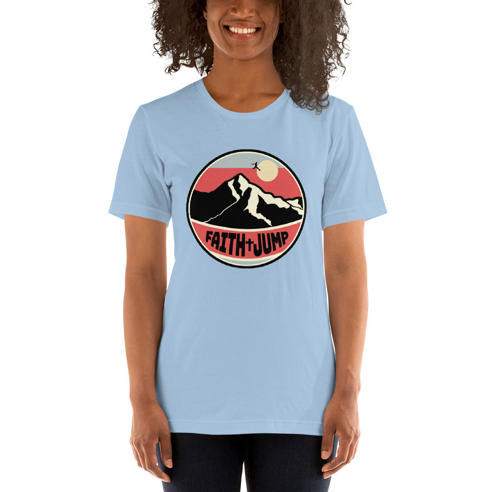 Womens Short-Sleeve Faith Jump T-Shirt