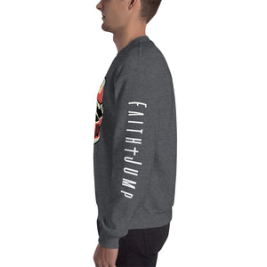 Men's Faith Jump Sweatshirt(logo on sleeve)