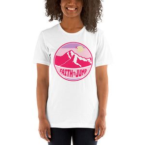 Women's Pink Faith Jump