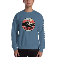 Load image into Gallery viewer, Men's Faith Jump Sweatshirt(logo on sleeve)