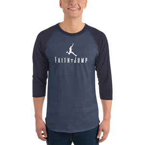 Mens Faith Jumper 3/4 T-Shirt