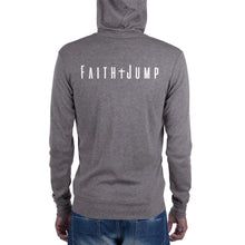 Load image into Gallery viewer, Men's Faith Jump zip hoodie