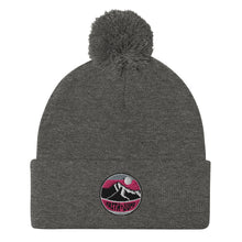 Load image into Gallery viewer, Pom-Pom Faith Jump Logo Beanie