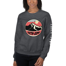 Load image into Gallery viewer, Womens Faith Jump Sweatshirt