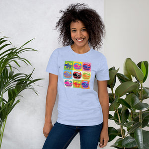 Womens Multi Faith Jump T-Shirt