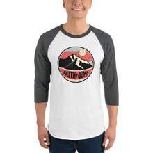 Load image into Gallery viewer, Men's Faith Jump 3/4 sleeve raglan shirt