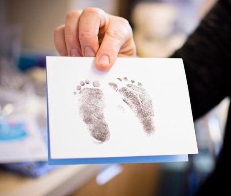 Handprint footprint fingerprint kit