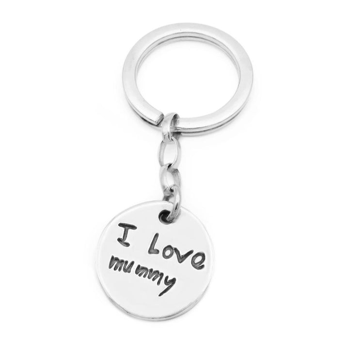 Handwriting Keyring-Smallprint