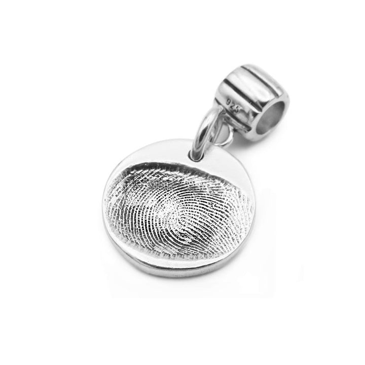 Original Fingerprint Charm on Carrier-Smallprint