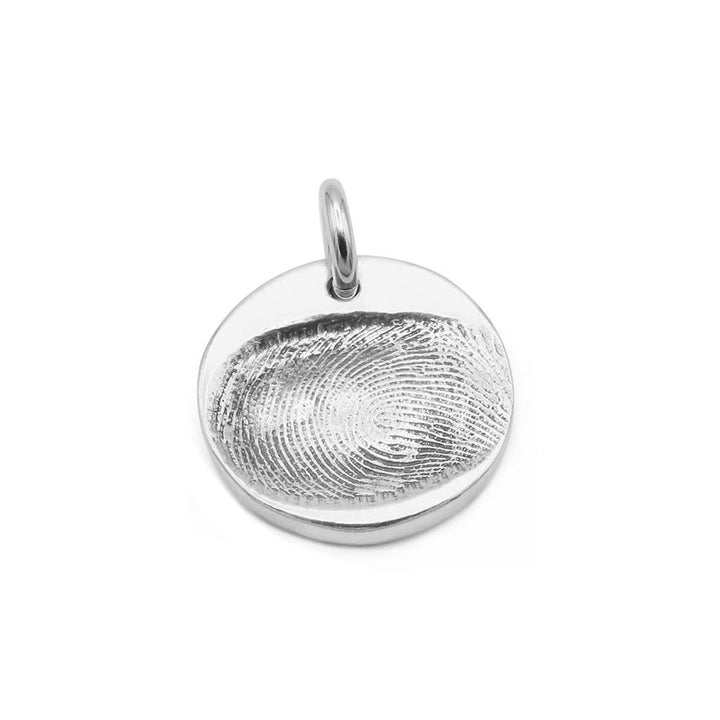 Original Fingerprint Charm-Smallprint