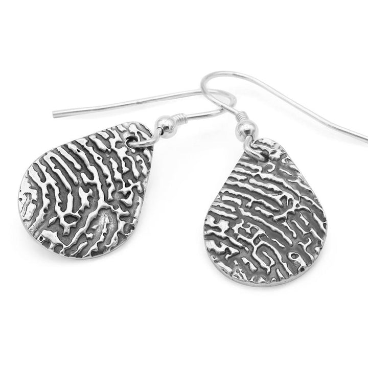 Fingrprint earrings