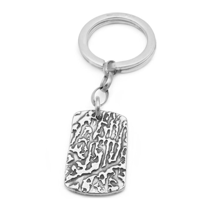 """Tender Touch"" Fingerprint Keyring-Smallprint"