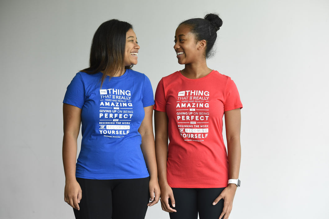 Anna Quindlen Quote Tee