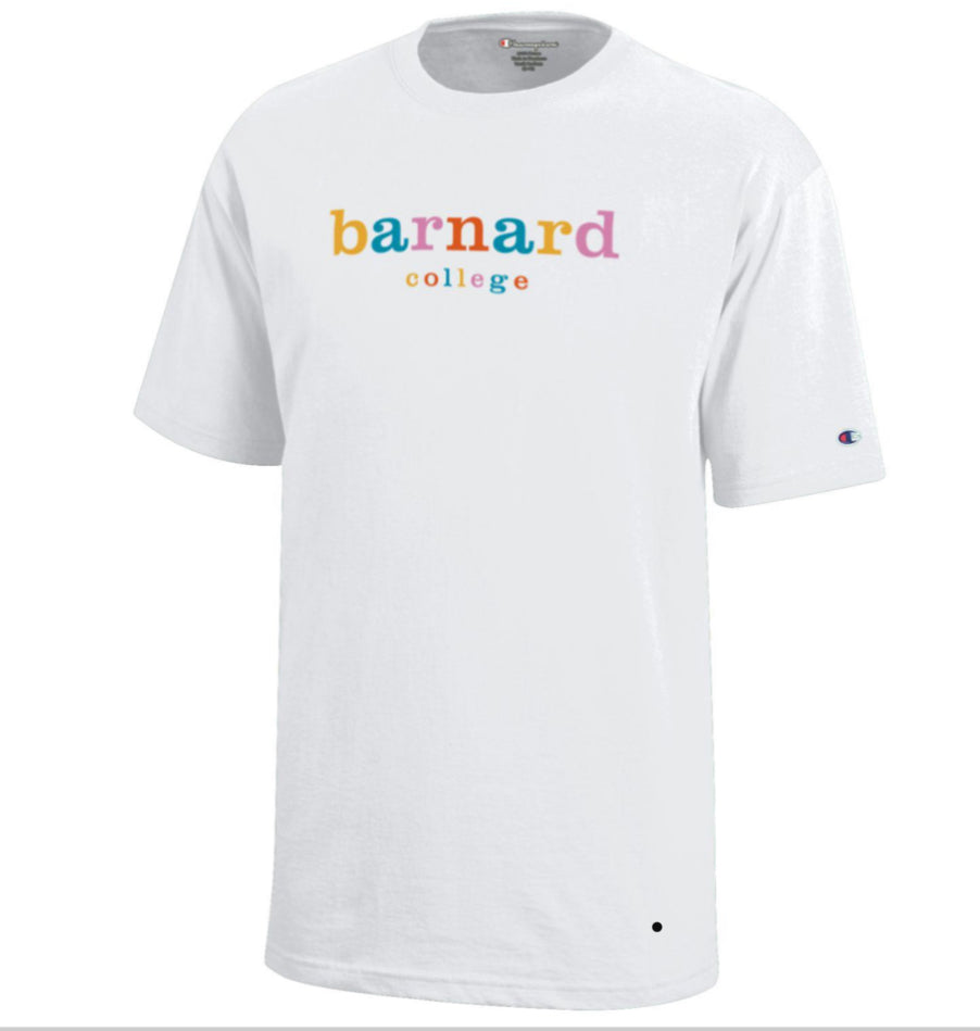 Color Block Barnard Youth Tee