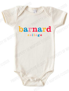Color Block Barnard Baby Onesie